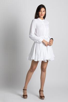 Ranil Robe White Sheath Dress