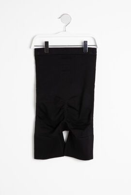 High-waisted-mid-thigh Short