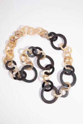 Garian Circle Link Necklace