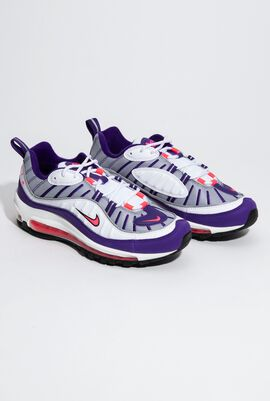 W Air Max 98 White/Racer Pink Sneakers for Women