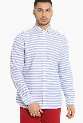 Barre Stripe Slim Fit Shirt