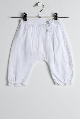 White Voile Pants