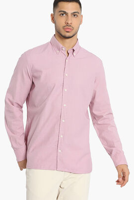 Plain Slim Fit Shirt