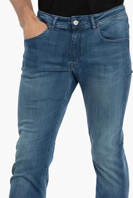 5-Pocket Washed Jeans