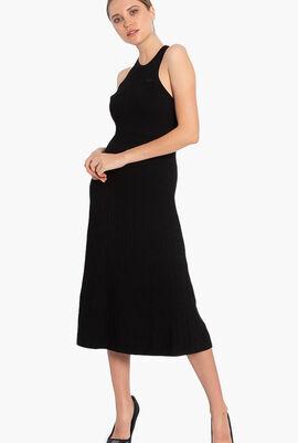 Pleated A Line Dress
