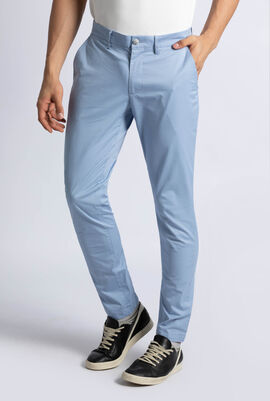 Slim Fit Stretch Pima Cotton Twill Chino Pants