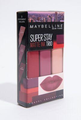 Super Stay Matte Ink Trio Lipstick Set