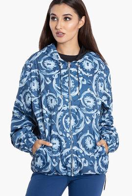 Gianni Printed Hoodie Jacket