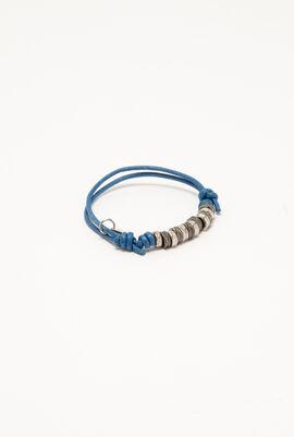 Metal Wax Cord Bracelet