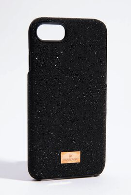 High Black Smartphone Case