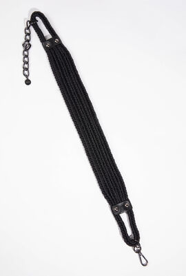 Black Tedesco Belt-Suspenders