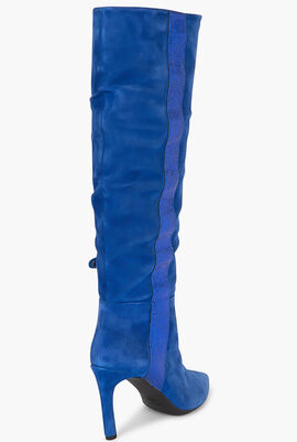 Faviola Suede Knee High Boots