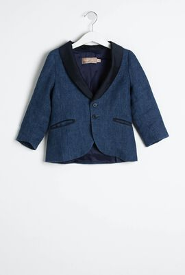 Denim Formal Blazer
