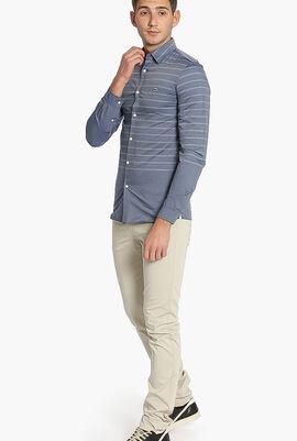Stripes Slim Fit Shirt