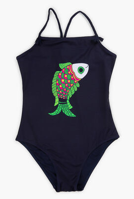 One-piece Sweet Fishes Swimsuit