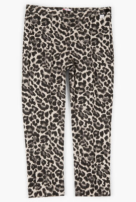 Animal Print Trouser