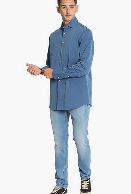 MayFair Denim Twill Classic Fit Shirt