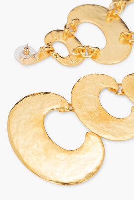 3-Tier Drop Earrings
