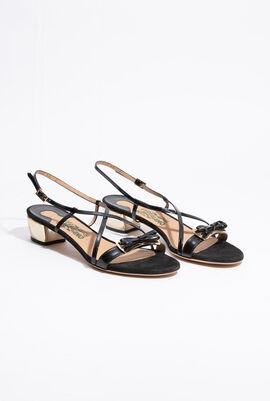 Bow Crisscross Sandals