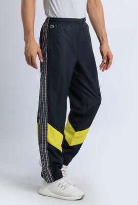 سروال رياضي برقعات نسيج