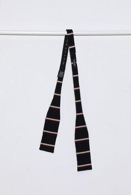 Stripes Bow Men's Tie
