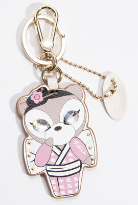 Lady Blogger Key Ring