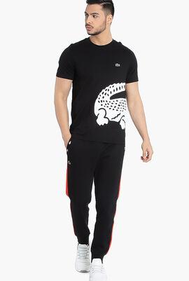 Lacoste SPORT Two-Tone Fleece Trackpants