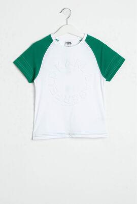 Logo Embossed T-Shirt