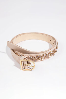 Elisse Crystal Embellished Belt