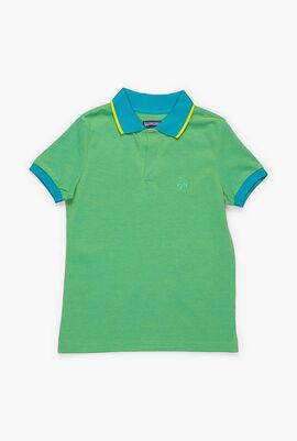 Classic Changing Cotton Pique Polo Shirt