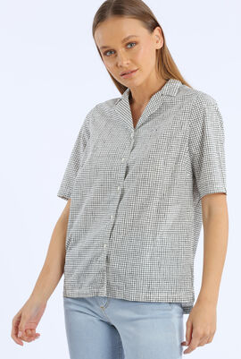Checked Loose Fit Shirt