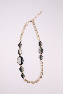 Benda Contrasting Stone Necklace