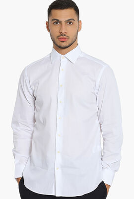 ECI Form Herringbone Slim Fit Shirt
