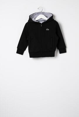 Tennis Zippered Fleece Sweatshirt