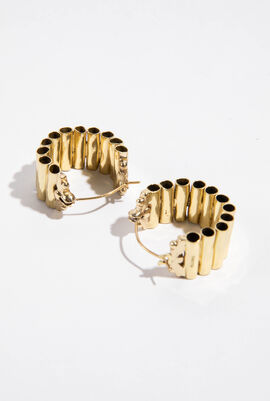 Pawn Vessel Hoop Earrings
