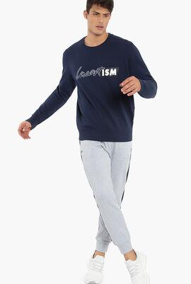 Lacoste's Print Fleece Sweatshirt