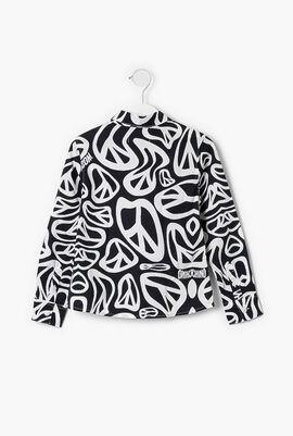 Printed Long Sleeve Shirt