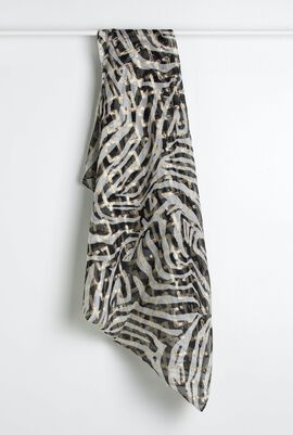 Sapienz A Stole Square Scarf ( Limited Edition By Fausto Puglisi)