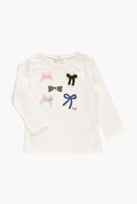 Sheep Patch Long Sleeve T-Shirt