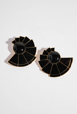 Lluvia Fan Earrings