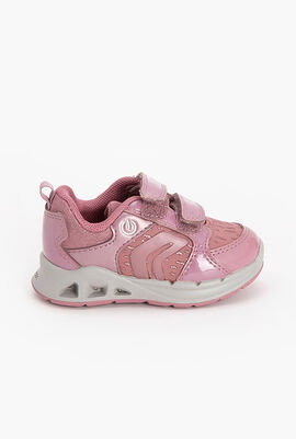 Velcro light sneakers Dakin pink