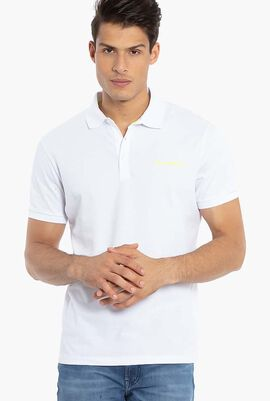 Rubber Logo Polo Shirt