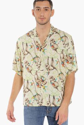 Killer Monkey Cotton Shirt