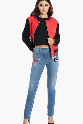 Versus Jeans Bomber Jacket