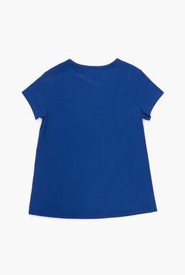 Printed Cotton Crew Neck T-shirt