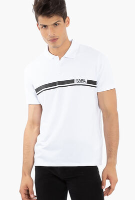 Logo Print Polo Shirt