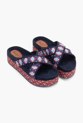 Rodeo Salted Wedge Sandals