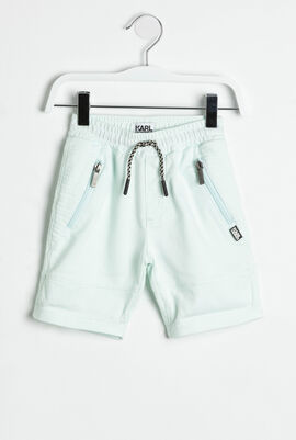 Zip Pockets Shorts