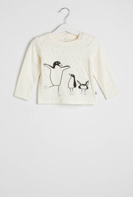 Penguin Print Top