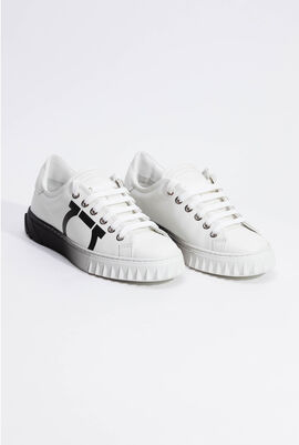 Cube 8 Gancini White Trainer Sneakers